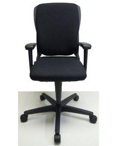 Bureaustoel Ahrend 230 extra hoog zwart