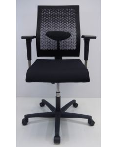 Bureaustoel Ahrend 250 zwart nieuw stof