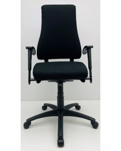 Bureaustoel BMA Axia Office Max zwart nieuwe stof