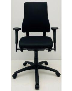 Bureaustoel BMA Axia Pro extra hoog zwart nieuwe stof