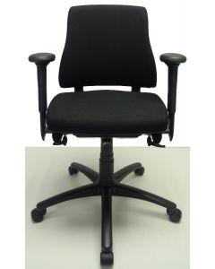 Bureaustoel BMA Axia nieuw model zwart middelhoog
