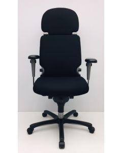 Bureaustoel Comforto 77 met hoofdsteun nieuwe stof