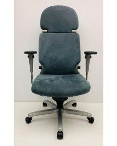 Bureaustoel Comforto 77 met hoofdsteun grijs