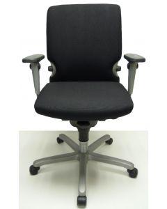 Bureaustoel Comforto 77 zwart tempur zitting nieuwe stof