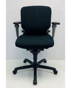 Bureaustoel Comforto 77 zwart nieuwe stof Tempur