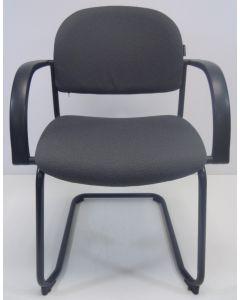 Vergaderstoel bezoekersstoel Dauphin Trend Office grijs