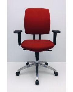 Bureaustoel Drabert Entrada rood
