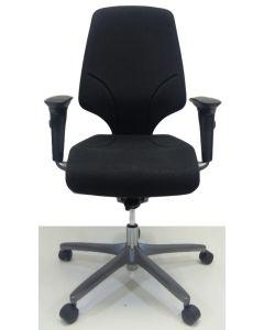 Bureaustoel Giroflex 64 nieuw stof onderstel grijs