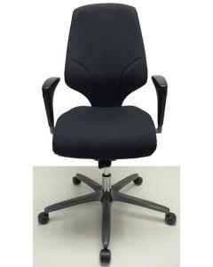 Bureaustoel Giroflex 64 nieuw stof met kleerhanger