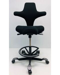 Bureaustoel Hag Capisco 8106 zwart nieuwe stof