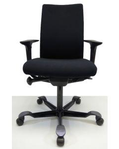 Bureaustoel HAG H05 Swingback nieuw stof zwart