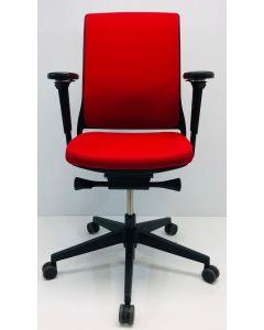 Bureaustoel Gispen Zinn rood