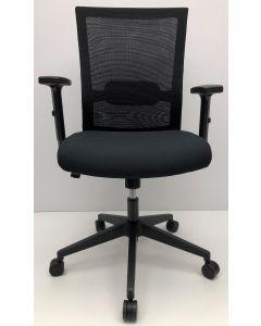 Bureaustoel Jetchair zwart