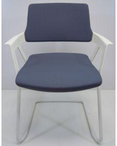 Vergaderstoel bijzetstoel Interstuhl Movy 56M0 grijs