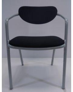 Nieuwe Vergaderstoel bezoekersstoel Jetchair V1 zwart