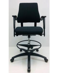 Loketstoel BMA Axia Office zwart nieuwe stof