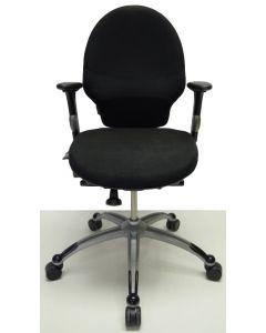 Bureaustoel RH Extend 100 medium zwart