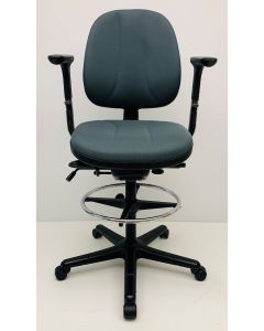Kassastoel RH Logic 3 grijs nieuwe stof