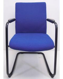 Vergaderstoel, bijzetstoel, bezoekerstoel Rovo XP 4410-A blauw