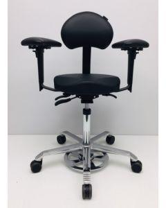Werkstoel Score Ergo Support A6 zwart