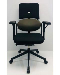 Bureaustoel Steelcase Strafor beige zwart