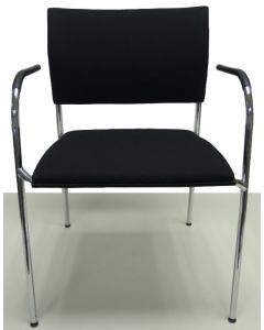 Vergaderstoel bijzetstoel bezoekersstoel Thonet S360 nieuwe stof