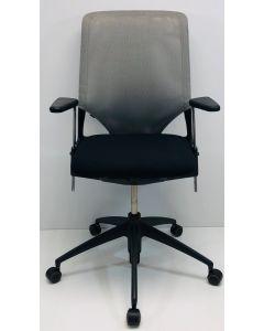 Bureaustoel Vitra Meda 2 zwart (grijs)