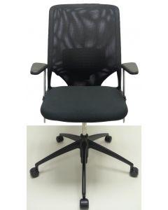 Bureaustoel Vitra Meda 2 zwart