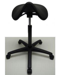 Nieuwe zadelkruk kapperskruk kapperskruk werkstoel zwart