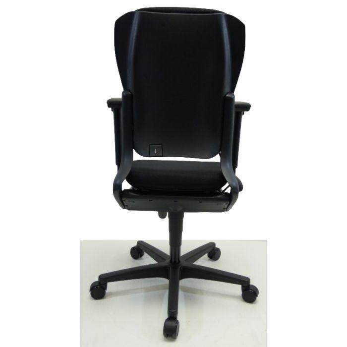 Bureaustoel Met Lendesteun.Bureaustoel Ahrend 230 Extra Hoog Nieuwe Stof Zwart